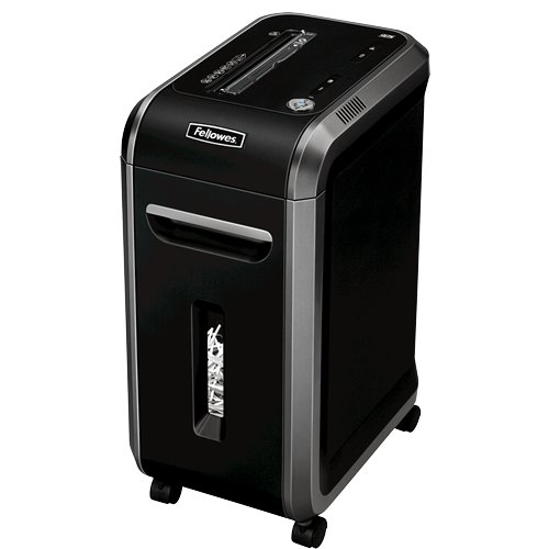 Black Fellowes Paper Shredders Image 1
