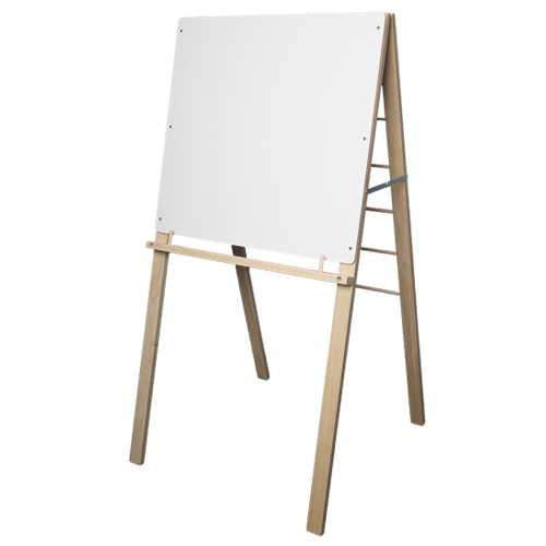 "Crestline 48"" x 24"" Big Book Display Easel with 24"" x 24"" Dry-Erase Surface (CL-17385) - $45 Image 1"