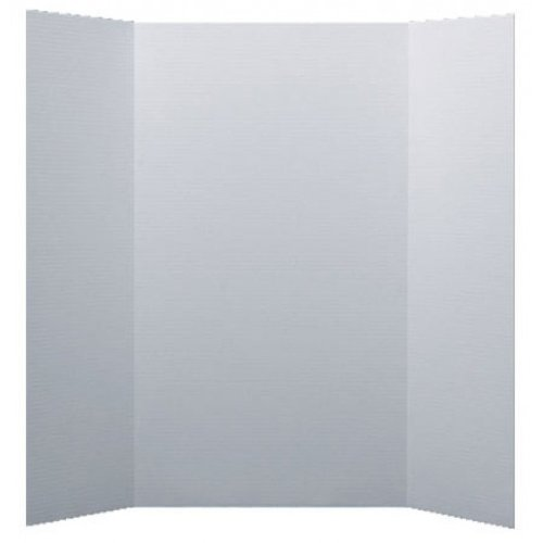 """Flipside 48"""" x 48"""" 1-Ply White Corrugated Project Boards - 24pk (FS-30037) Image 1"""