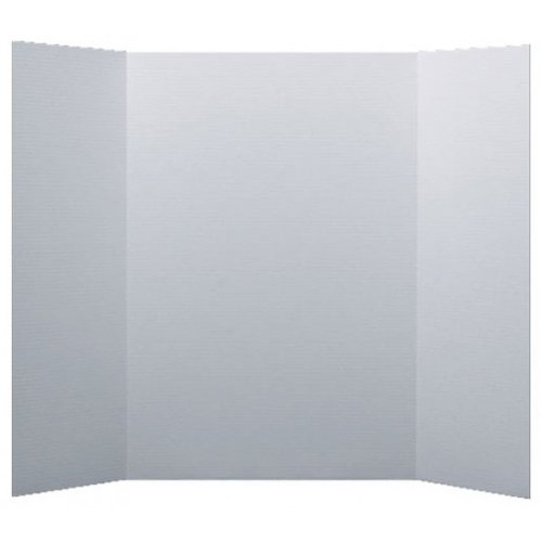 """Flipside 48"""" x 60"""" 1-Ply White Corrugated Project Boards - 18pk (FS-30036) Image 1"""
