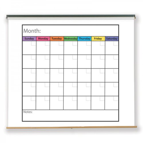 Wall Calendar and Months Image 1