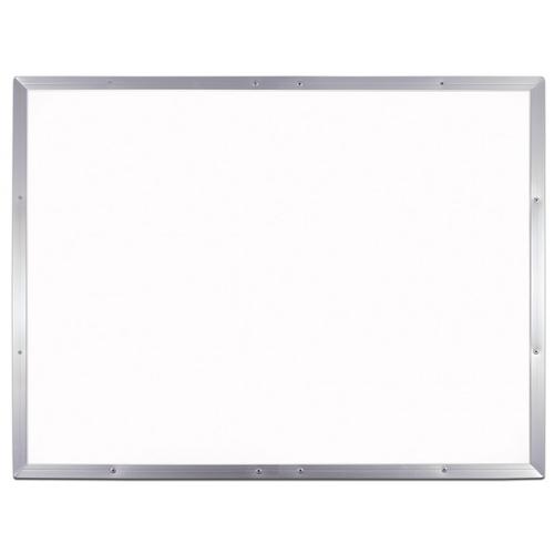 "Flipside 48"" x 72"" Aluminum Framed Melamine Dry-Erase Board (FS-54872), Brands Image 1"