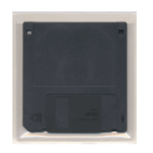 "4-1/16"" x 4-1/4"" Adhesive Back Floppy Disk Holders - 100pk (STB-788) Image 1"
