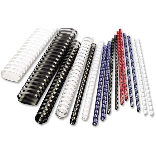 "5/16"" Green 15 Ring Half Size Plastic Binding Combs - 100pk (PC516GRH) - $21.09 Image 1"