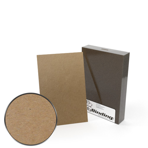 "5.5"" x 8.5"" Half Size 35pt Chipboard Covers - 25pk (MYCB5.5X8.5-35) Image 1"