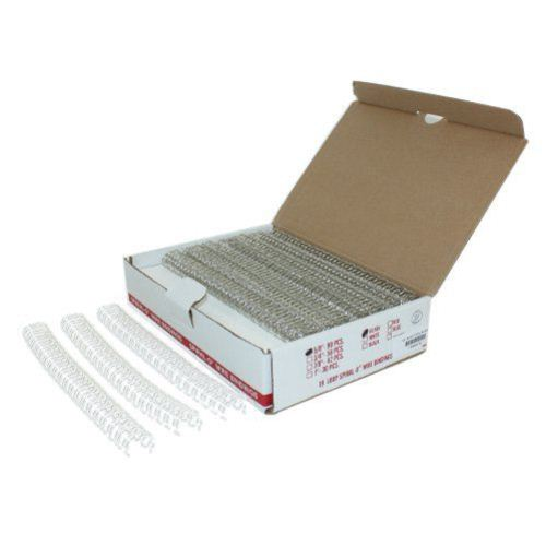 "5/8"" Silver Spiral-O 19 Loop Wire Binding Combs - 90pk (SP12058SV) Image 1"