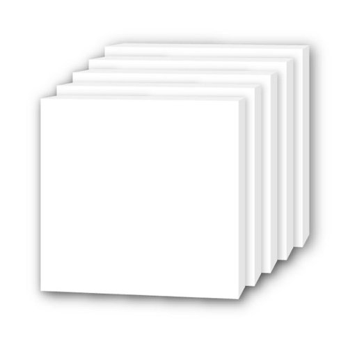 "Flipside White 3/16"" Thick Foam Board Square Sheets (FS-W316TFBSS) Image 1"