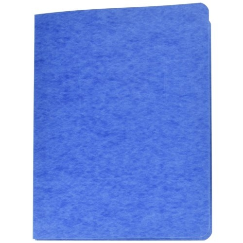 Acco Recycled Scored Hinge Light Blue Pressboard Report Covers 10pk - ACC-25102 (A7025102) Image 1