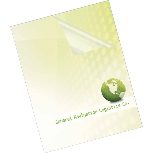 Clear Durable Binding Covers Image 1