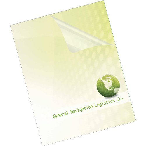 Fellowes 5 Mil Letter PET Ultra Clear Binding Covers 100pk (5242501) Image 1