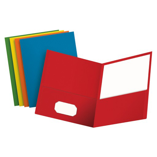 Folders with Business Cards Image 1
