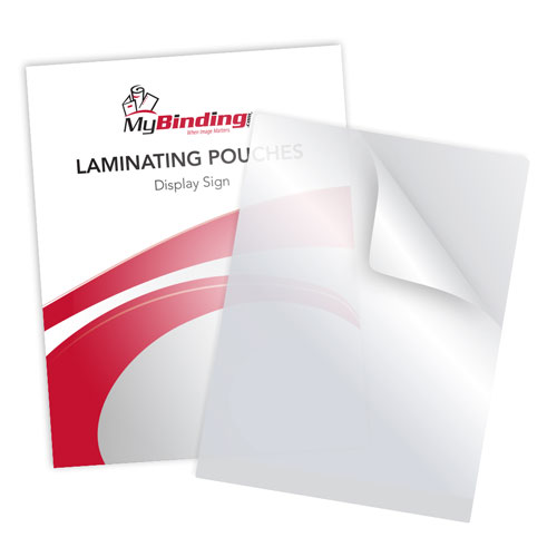 "5MIL 12"" x 15"" Display Sign Laminating Pouches - 100pk (LKLP5DISPLAYSIGN) Image 1"