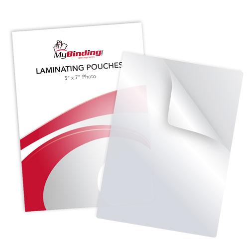 "7MIL 5"" x 7"" Photo Card Laminating Pouches - 100pk (LKLP7PHOTO5X7) Image 1"