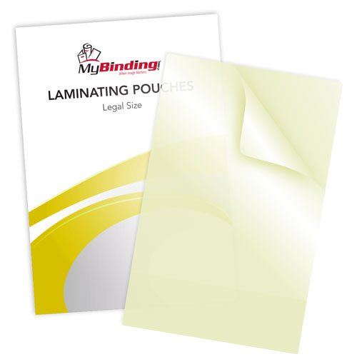 Legal Size Sticky Back Laminating Pouches Image 1