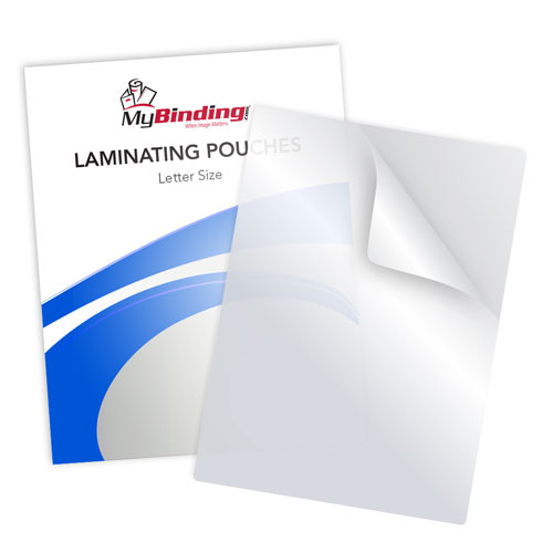 5mil Matte Writable Laminating Pouches Image 1