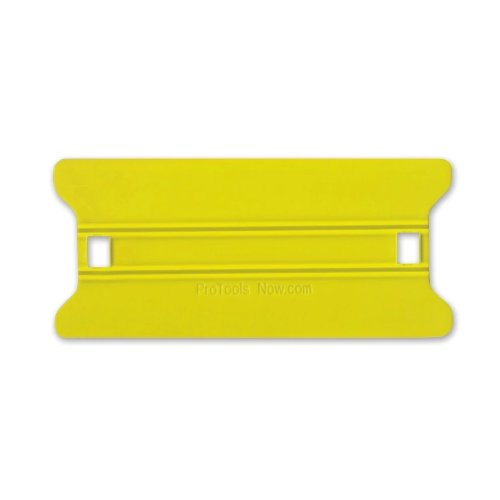 "6"" Yellow Medium Speed Wing Squeegee Installation Tool (SQSWY6), Finishing Equipment Image 1"