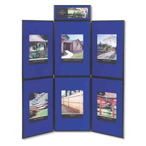 Quartet 6-Panel Exhibition Display System (QRT-VSB93516Q) Image 1