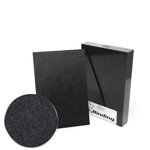 "6"" x 9"" 100pt Black Chipboard Covers - 25pk (MYCBB6X9-100), Covers Image 1"