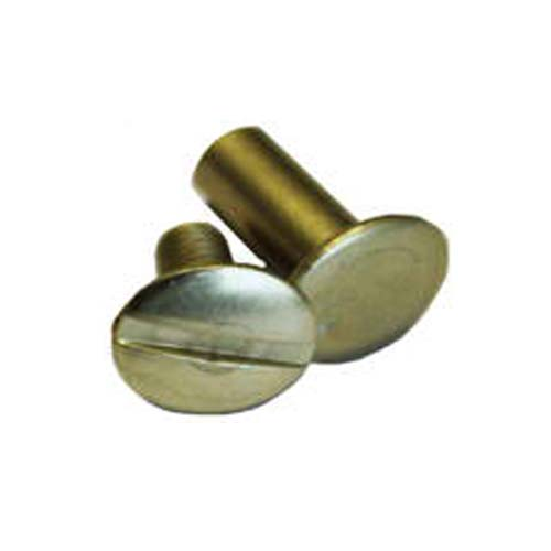 Antique Brass Screw Post Image 1