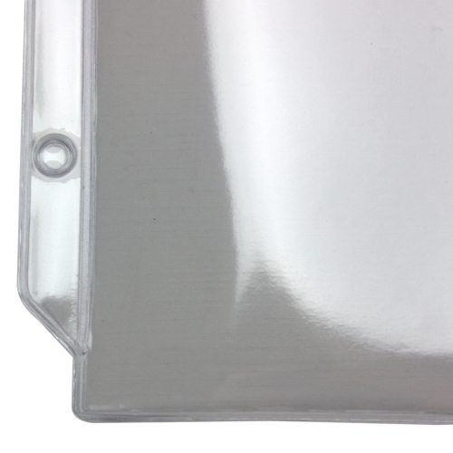 "7"" x 9"" 3-Hole Punched Heavy Duty Sheet Protectors (PT-2147) Image 1"