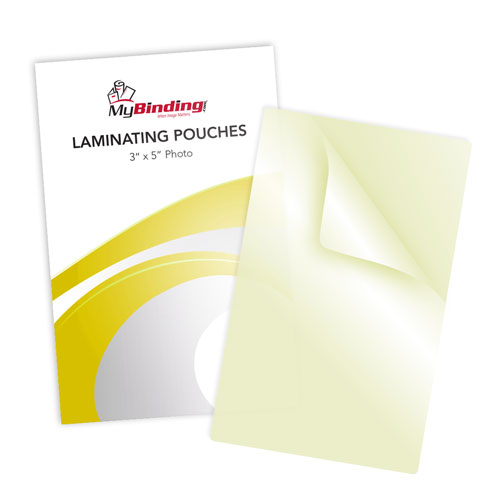 "7mil 3"" x 5"" Photo Size Sticky Back Laminating Pouches - 100pk (LKLP7PHOTO3X5A) Image 1"