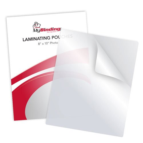 "7MIL 8"" x 10"" Photo Card Laminating Pouches - 100pk (LKLP7PHOTO8X10) Image 1"
