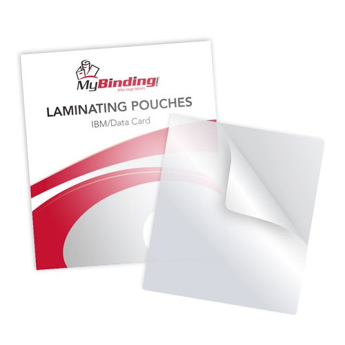 "7MIL IBM Data 2-5/16"" x 3-1/4"" Laminating Pouches 100pk (TLP7IBMDATA)"