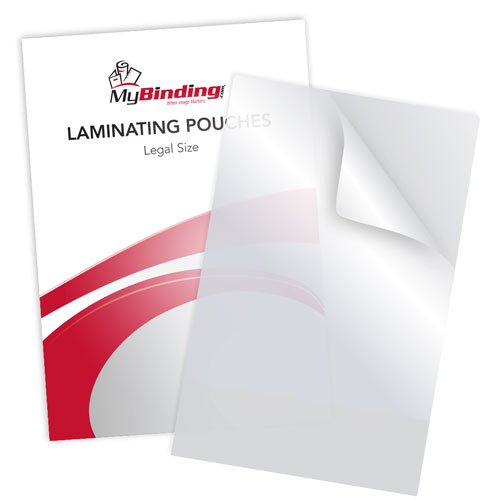 "7MIL Legal Size 9"" x 14-1/2"" Laminating Pouches - 100pk (TLP7LEGAL) Image 1"