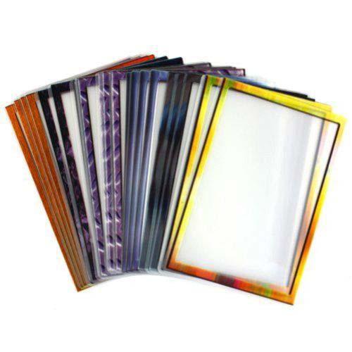 """Drylam 8.5"""" x 11"""" Letter Size Decorative Frame Pizzazz Laminating Pouches (DL-85x11PIZ) Image 1"""