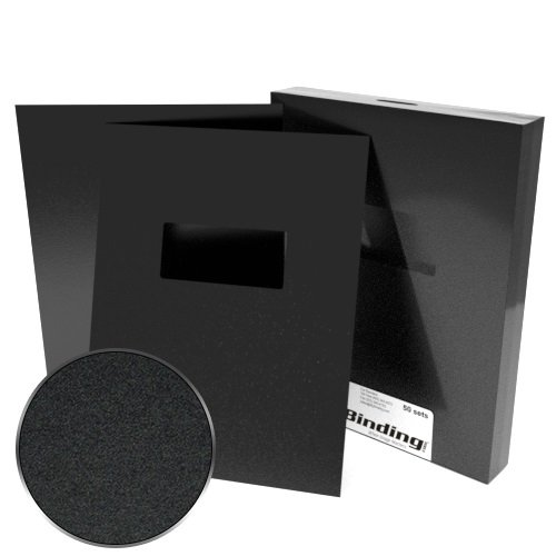 "8.5"" x 11"" Sand Poly 12mil Binding Covers with Windows - 100pk (Letter Size) (MYMPSAND128.5X11W) - $95.16 Image 1"