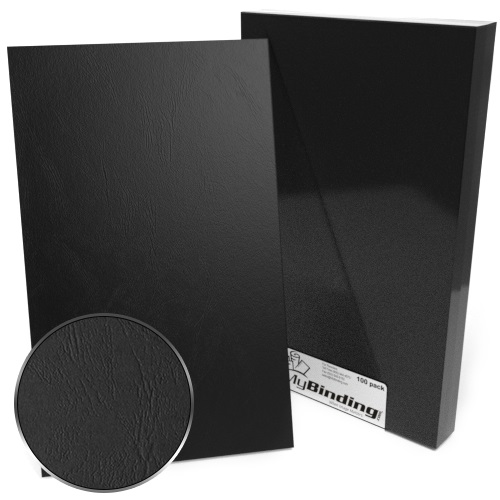"8.5"" x 14"" Grain Binding Covers - 100pk (Legal Size) (MYGR8.5X14) Image 1"