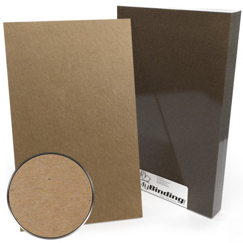 "8.5"" x 14"" Legal Size 87pt Chipboard Covers - 25pk (MYCB8.5X14-87) Image 1"