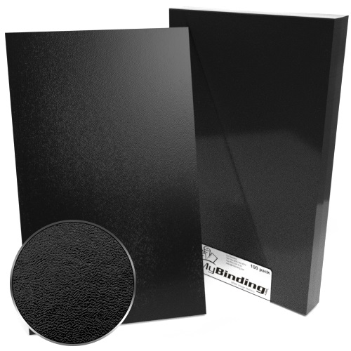 "8.5"" x 14"" Regency Leatherette Covers - 100pk (MYRLC85X14) Image 1"