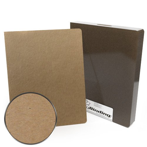 "8.75"" x 11.25"" Oversize 98pt Chipboard Covers - 25pk (MYCB8.75X11.25-98) Image 1"