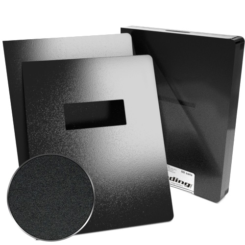 "8.75"" x 11.25"" Sand Poly 35mil Binding Covers with Windows - 25 sets (Oversize) (MYMPSAND358.75X11.25W) - $94.75 Image 1"