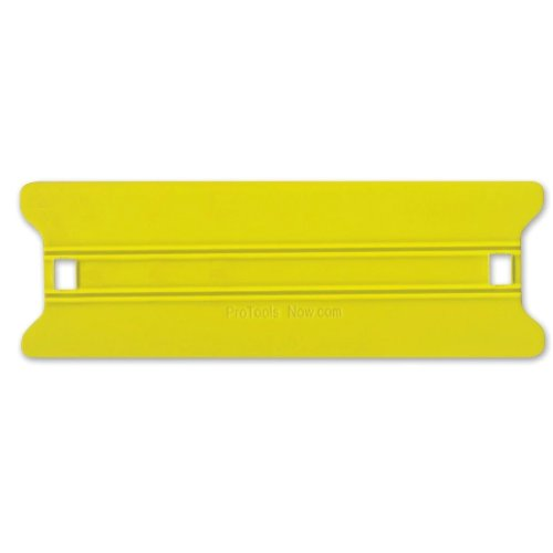 "8"" Yellow Medium Speed Wing Squeegee Installation Tool (SQSWY8), Finishing Equipment Image 1"