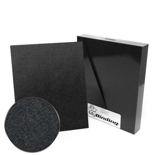 "8"" x 10"" 100pt Black Chipboard Covers - 25pk (MYCBB8X10-100), Covers Image 1"