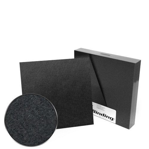 "8"" x 8"" 100pt Black Chipboard Covers - 25pk (MYCBB8X8-100), Covers Image 1"