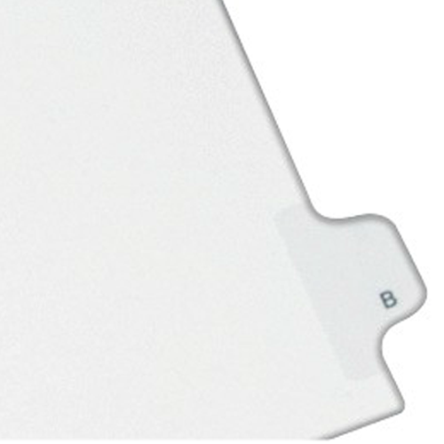 Avery B Individual Legal Index Allstate Style Dividers 25pk (AVE-82164) Image 1