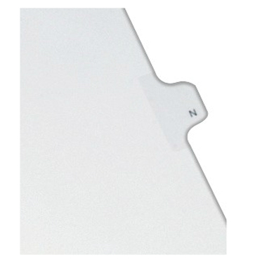 Avery N Individual Legal Index Allstate Style Dividers 25pk (AVE-82176) - $1.89 Image 1