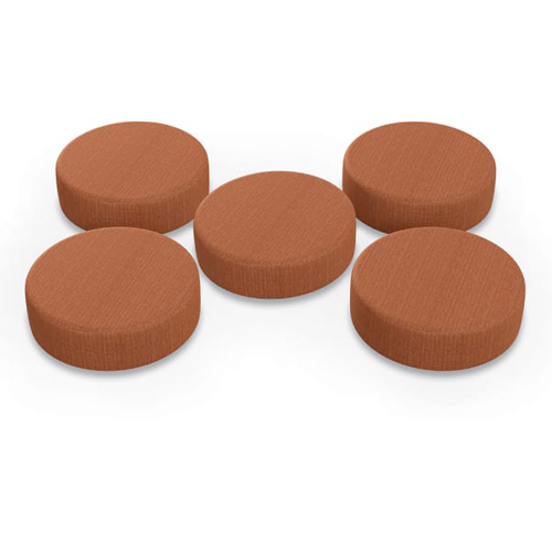 MooreCo Dot 5-Pack Soft Seating (Salsa) (87849)