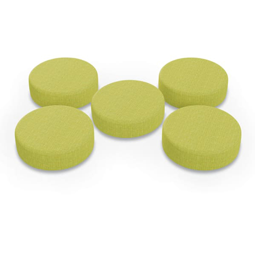 MooreCo Dot 5-Pack Soft Seating (Zest) (87850)