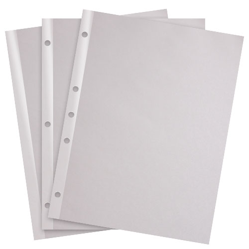 "Docucopy 24lb 8.5"" x 11"" Reinforced Edge Paper (DOC248.5X11REP)"