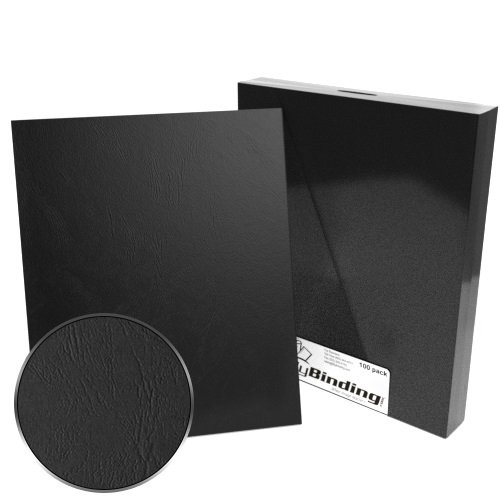 "9"" x 11"" Grain Binding Covers - 100pk (Index Allowance) (MYGR9X11), MyBinding brand Image 1"