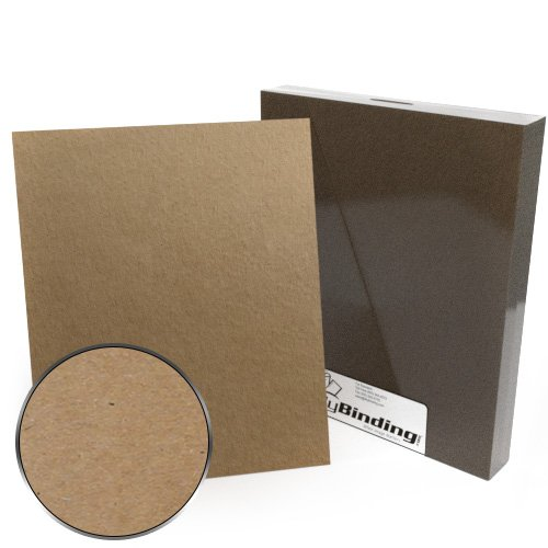 "9"" x 11"" Index Allowance 18pt Chipboard Covers - 25pk (MYCB9X11-18) Image 1"