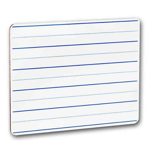 Flipside Two-Sided Blue Lined Dry-Erase Lap Boards (FS-TSBLDELB) Image 1