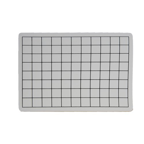 "Flipside 9"" x 12"" Two-Sided 1"" Squares Grid/Plain Dry-Erase Lap Boards - 12pk (FS-34459) Image 1"