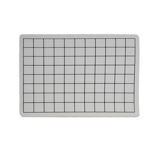 "Flipside 9"" x 12"" Two-Sided 1"" Squares Grid/Plain Dry-Erase Lap Boards (FS-9X12TS1SGPDELB) Image 1"
