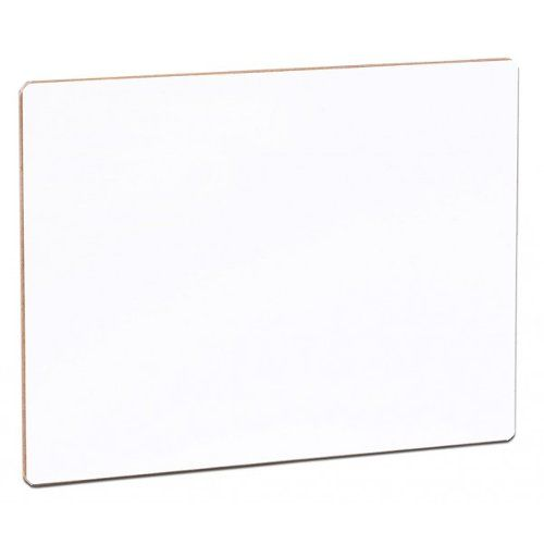 "Flipside 9"" x 12"" Unframed Dry-Erase Lap Boards with Nipped Corners (FS-9X12UDELBWNC) Image 1"