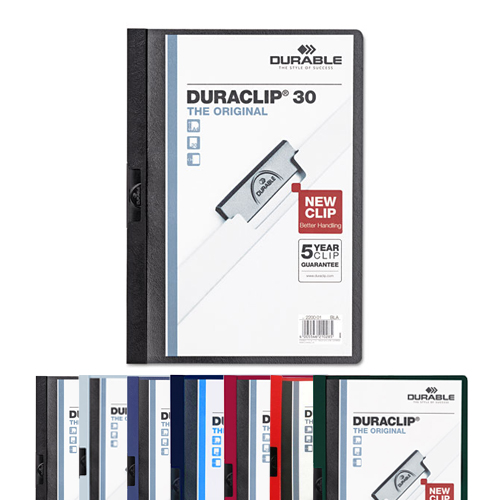 Durable DuraClip Report Covers (DBL-2203) Image 1